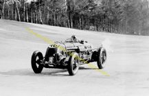 Bentley Birkin Blower At Speed Brooklands C.1932. Photo (d)